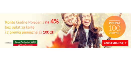 Bonus 100 zl BZWBK