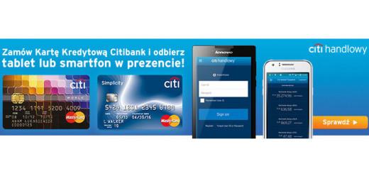 Darmowa karta kredytowa Citi